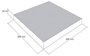 Maßskizze Terrassenstein groß