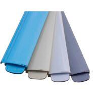 PVC-Lamellen in blau, beige, weiss und grau