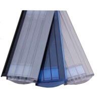PC 60 Polycarbonat Lamellen in solar, transparent und Alu-Look