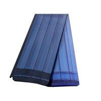 Polycarbonat Lamellen PC83 in solar und transparent