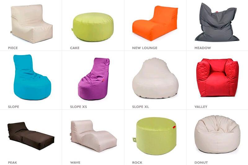 Varianten-Outbag-Sitzsäcke