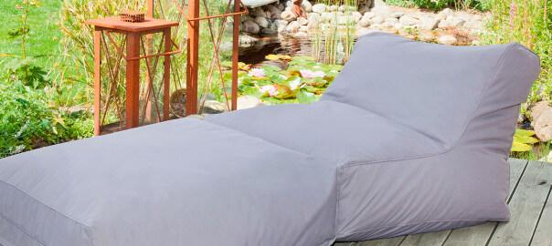 Outdoor Sitzsäcke - wasserfest und bequem